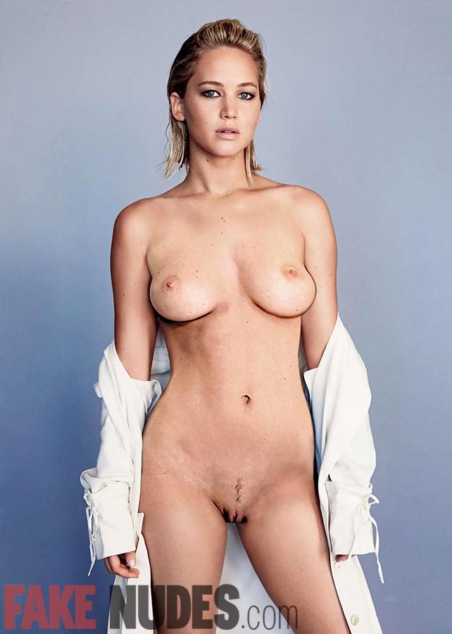 Jennifer Lawrence Fake Nude